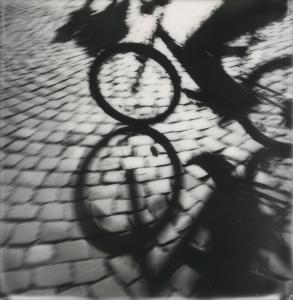 Fahrrad mit Schatten / Bike with Shadow