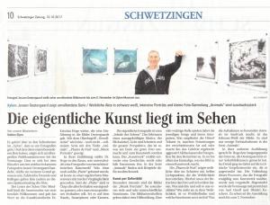 Schwetzinger Zeitung, 10.Okt.2017