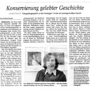 Wiesbadener Fototage 2013 - Im Lauf der Zeit